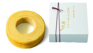引菓子「京とうふ藤野・豆乳ばうむM」