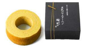 引菓子「京とうふ藤野・豆乳ばうむL」