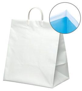 引き出物袋・ブライダルバッグ「ツートン無地・オーシャンホワイト」