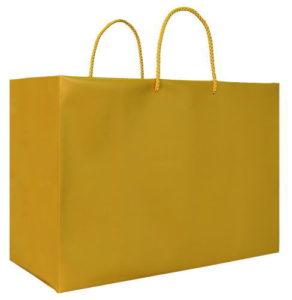 引き出物袋・ブライダルバッグ「ツートンR(L)ゴールド」