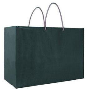 引き出物袋・ブライダルバッグ「ツートンR(L)ブラック」