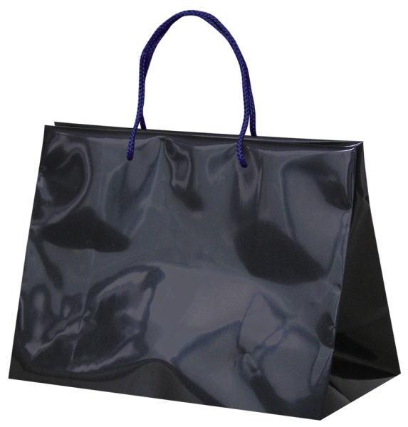 引き出物袋・ブライダルバッグ「GLOSSY GLOSSY ネイビー」