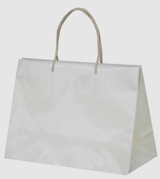 引き出物袋・ブライダルバッグ「GLOSSY GLOSSY アイボリー」