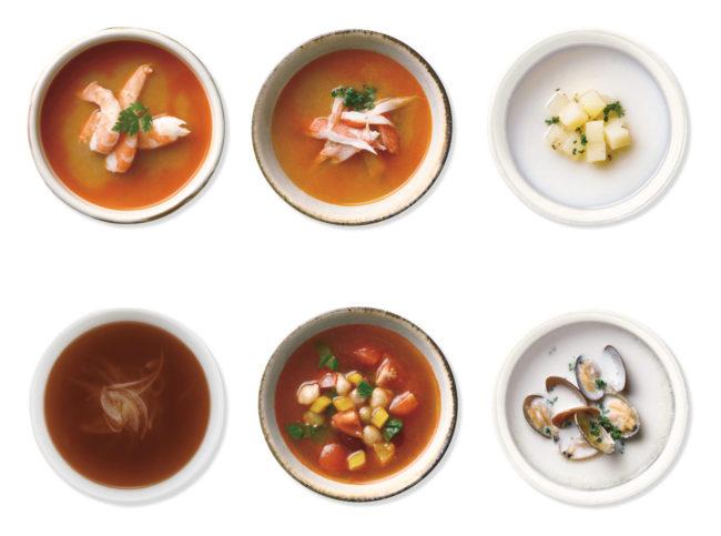 おいしいデニッシュハート&贅沢スープセット
