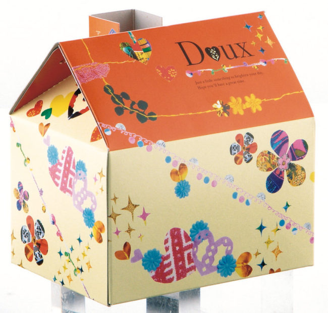 「幸せのおうち」箱