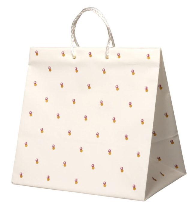 引き出物袋・ブライダルバッグ「水玉」