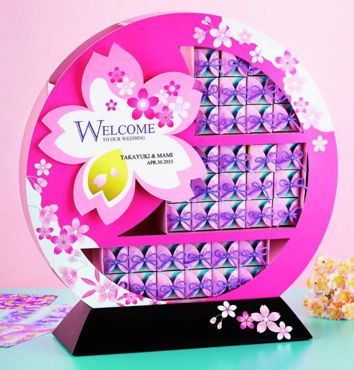 祝い桜 飾り棚 38個セット