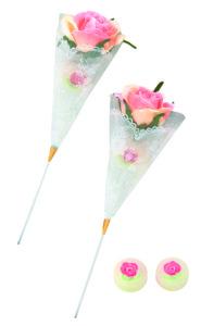 ウェルカムバスケット ピンクローズキャンディー 単品
