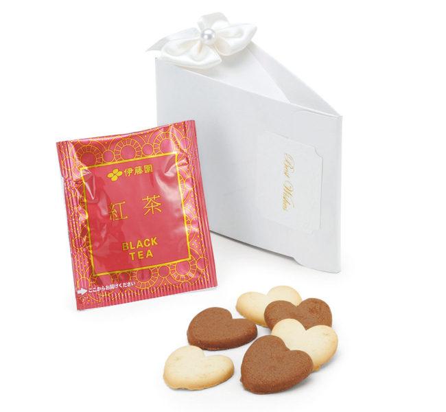 テディケーキ(ハートクッキー・紅茶)1個