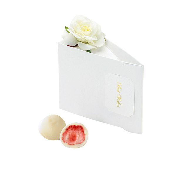 テディケーキ(ホワイトストロベリーチョコ)1個
