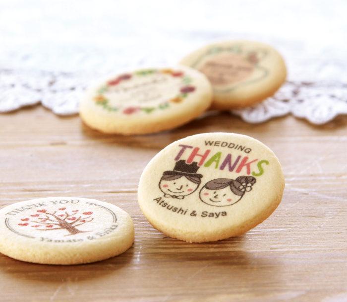 オリジナルプリントラウンドクッキー