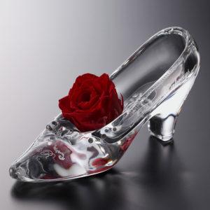 リングピロー ガラスの靴(ウィズローズ)