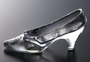 リングピロー ガラスの靴(スタンダード)