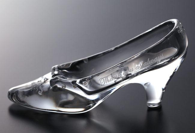 リングピロー ガラスの靴(スタンダード)①