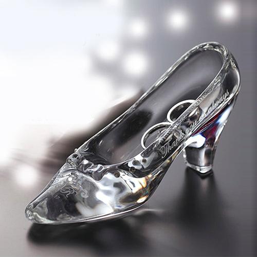 リングピロー ガラスの靴(スタンダード)②