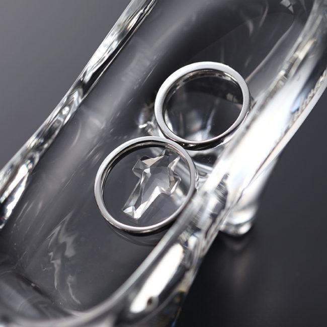 リングピロー ガラスの靴(スタンダード)③