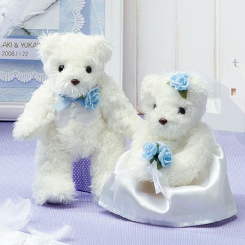 天使のホワイトベアー [TW-2 (ブルー]