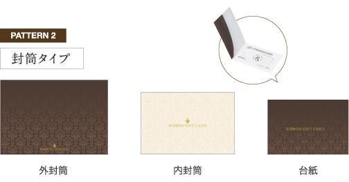 ギフトカード専用パッケージ 封筒タイプ